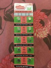 20 X Batterie 1.55 V Alcaline AG4 626 A 377 A CX66W BRAND NEW