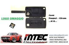 K10 Cover Clé Télécommande 3 Touches Citroen C3-C4-C8 Avec Symbole Coffre Vide