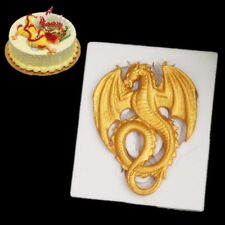3D Dragon Silicone Fondant Mold Cake Decorating Chocolate Sugarcraft Baking Mold