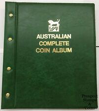 VST Australian PreDecimal & Decimal Complete-1910 to 2016-Coin Album-Green cover