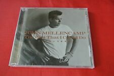 The Best That I Could Do 1978-1988 by John Mellencamp Import Canada 1997 CD NEW