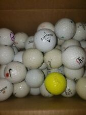 Lot of 50 Used Quality Used Golf Balls - Assorted Brands - Free Shipping!