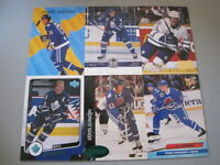 M77 Lot of 30 Different Mats Sundin Score Topps Upper Deck Maple Leafs