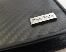 Carbon Fibre Leather Wallet Men JDM Car Turbo 4x4 for Kia Hyundai Audi BMW Ford
