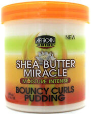 AFRICAN PRIDE SHEA BUTTER MIRACLE BOUNCY CURLS PUDDING MOISTURE INTENSE 15 OZ.