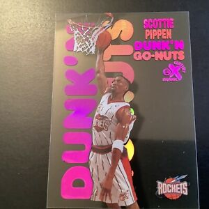 1998-99 Skybox E-X Century Dunk N Go-Nuts Scottie Pippen