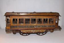 Circa 1900 DP Clark, Schieble Pressed Steel Street Car, Original