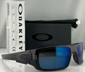 NEW OAKLEY CRANKSHAFT Black Ink Galaxy Blue Sunglass 9239-26