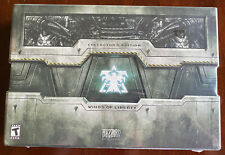StarCraft 2: Wings of Liberty Collector's Edition BRAND NEW SEALED II PC