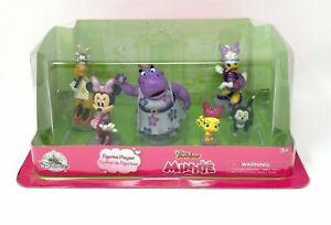 Disney Junior MINNIE Playset Cake Toppers 6 Figurines NEW & UNOPENED