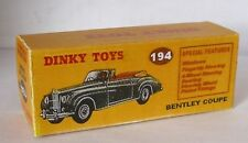 Repro Box Dinky Nr.194 Bentley Coupe