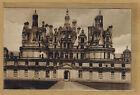 Cpa Chambord - le château façade sud bes069