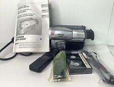 Canon ES55 8mm Camcorder VCR Player Camera Video Transfer Bundle