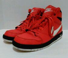 Men's Nike Prestige IV High Top Basketball Shoes 584614-610 (Sz:10) Red/White