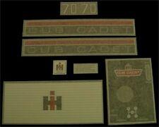 I.H. Cub Cadet 70 Decal Set