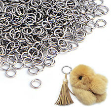 500Pcs Open Jump Rings For Jewelry Making 4mm Silver