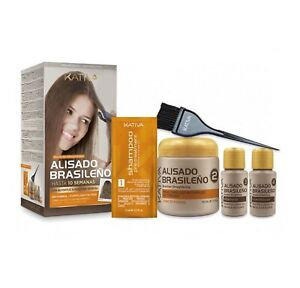 Kativa Brazilian Keratin Argan Oil Treatment Hair Straightening KIT Greater Size