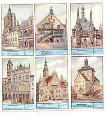 """Liebig Bilder Serie 1118 """"Deutsche Rathäuser"""""""