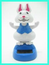 NEW Solar Dancing Blue Bunny Novelty Collectible Toy Figurine **Fast Shipping**