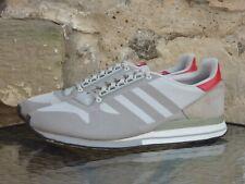 2014 Adidas ZX 500 Weave UK 11.5 / US 12 OG CW Grey Red Rare Originals