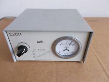 E Leitz Model 050260 Microscope Light Power Supply