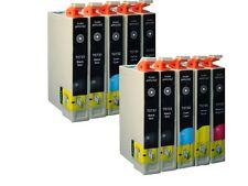 10 INK for Epson 73N T0731-0734 TX110 CX5500 NX220 TX610F   Printer Cartridges