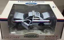 Calgary Police Service Alberta Canada 2004 Ford Police Cruise RARE 1:43