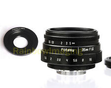 35mm f1.6  Lens for APS-C sensor Sony a6300 a6000 a5100 a5000 a3500 a6500 a3000