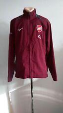 Football jacket soccer FC Arsenal Gunners Training 2005/2006 Nike Suit TOP Sz L