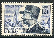 STAMP / TIMBRE FRANCE OBLITERE N° 982  CELEBRITE  MARECHAL DE LATTRE DE TASSIGNY