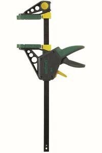 Wolfcraft Einhandzwinge Pro Dehnbereich 21-41 cm, 120 kg, 450 mm Spannweite