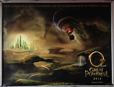 Cinema Poster: OZ THE GREAT AND POWERFUL 2012 (Advance Quad) James Franco