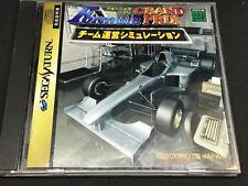 Formula Grand Prix For Japanese Sega Saturn System  *USA Seller*
