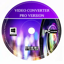 Pro Video-Converter-Video Editor-DVD & Movie Maker Creator PC CD