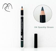 Crayon Eyeliner Vert avec Paillettes Argentées Makki Sparkly Green Eyeliner eye