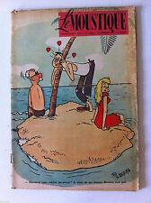 Tv Radio MOUSTIQUE 23/11/1952: couverture Ted Smedley/ Indochine aprés le roi Je