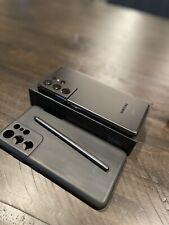 Samsung Galaxy S21 Ultra 5G SM-G998U - 128GB - Phantom Black (Verizon)
