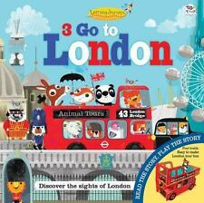 3 GO TO LONDON - GRAHAM, OAKLEY/ GREEN, OLIVE MAY (ILT) - NEW HARDCOVER BOOK