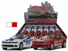 New Kinsmart Diecast Cars 2014 CHEVROLET CAMARO POLICE OR FIRE RESCUE 5""