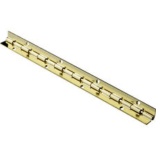 "Jewelry Box Stop Hinge - 8"", Brass Plated"