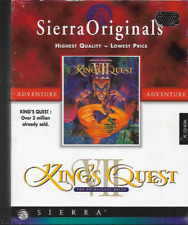 KING'S QUEST VII (7) THE PRINCELESS BRIDE PC CD-ROM GAME BIG BOX 1994 NEW/SEALED