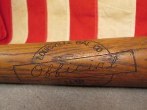 "Vintage Louisville Bat Co.Wood Baseball Bat 30"" Henry Hank Aaron Model LL12"