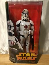 "Star Wars ROTS 12"" Clone Trooper Figure Hasbro 2005"