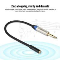 Palic Pailiccs 3.5MM Female to 6.35MM Male HiFi Audiophile Audio Adapter Cable