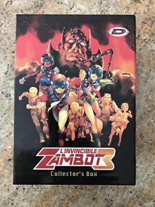 Zambot 3 DVD Serie Completa Originale Edizione Limitata