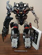TRANSFORMERS ROTF LEADER CLASS SHADOW COMMAND MEGATRON 100% COMPLETE & INSTRUCT