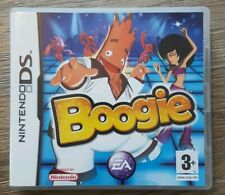 BOOGIE Nintendo DS NDS 2DS DSL DSI 3DS EA Video Game (unused 3d glasses)