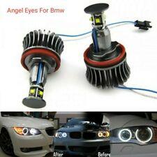 LAMPADE H8 LUCI DI POSIZIONE LED BMW SERIE 3 E90 E91 E92 E93 ANGEL EYES 6000K
