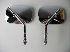NEW HARLEY DAVIDSON CHROME MIRRORS PAIR SPORTSTER LOW RIDE FAT BOY V-ROD SOFTAIL