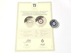 2015 Commemorative Medal Battle of Britain 75th Anniversary Finest Hour